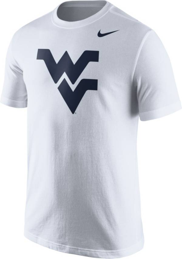 Nike Men's West Virginia Mountaineers White Logo T-Shirt product image
