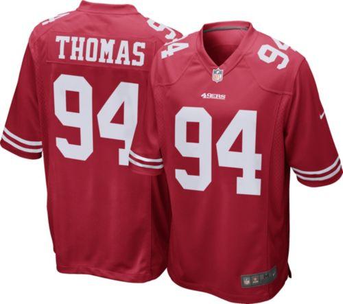 Nike Men's Home Game Jersey San Francisco 49ers Solomon Thomas #94  hot sale