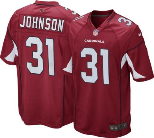 e818649e41d7 Nike Men s Home Game Jersey Arizona Cardinals David Johnson  31 ...
