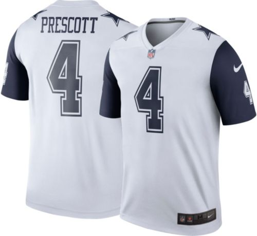 Nike Men s Color Rush Legend Jersey Dallas Cowboys Dak Prescott  4 ... a6b1eb9be