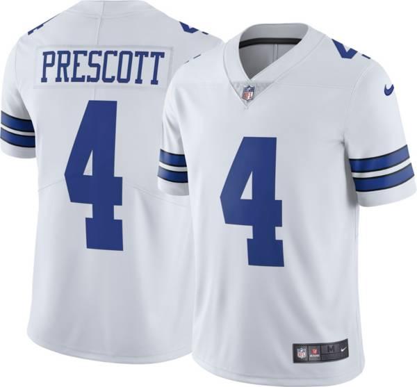 Nike Men's Dallas Cowboys Dak Prescott #4 White Limited Jersey