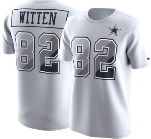 d753148bfcd Nike Men's Dallas Cowboys Jason Witten #82 Prism Player White T-Shirt.  noImageFound. Previous