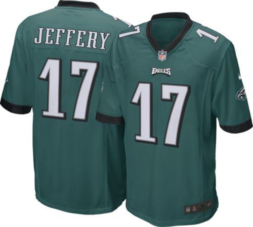 9ac0cd7536c Nike Men's Home Game Jersey Philadelphia Eagles Alshon Jeffery #17 ...