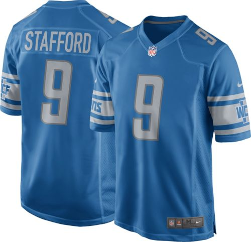 f7a2167b495 Nike Men s Home Game Jersey Detroit Lions Matthew Stafford  9 ...