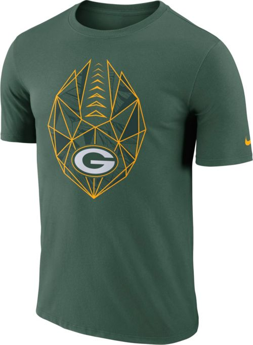 2acb3d859 Nike Men s Green Bay Packers Icon Performance Green T-Shirt. noImageFound.  Previous