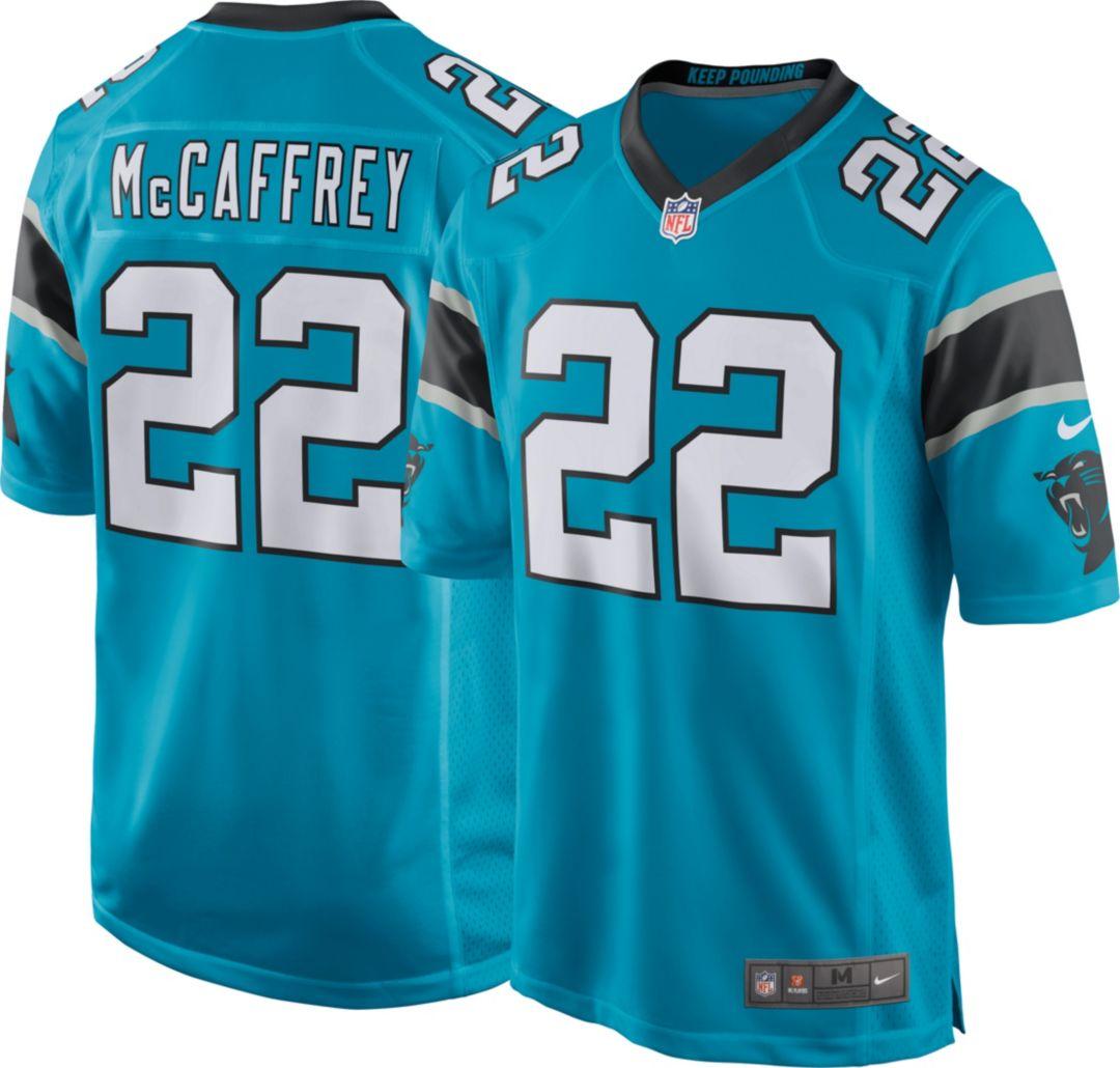 c86ef202 Nike Men's Alternate Game Jersey Carolina Panthers Christian McCaffrey #22.  noImageFound. Previous