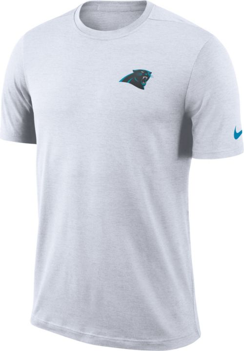 f7ab4a200 Nike Men s Carolina Panthers Sideline Coaches Performance White T-Shirt.  noImageFound. Previous