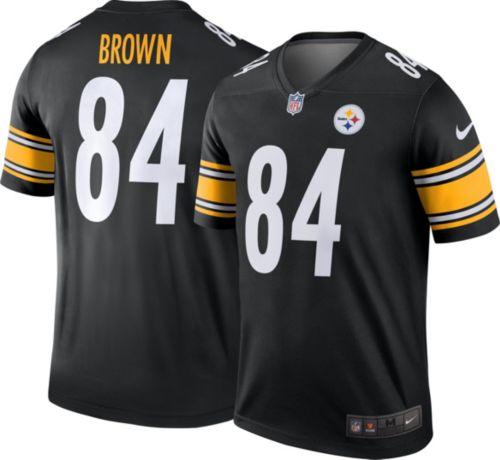 aa648ecc1b3 Nike Men s Home Legend Jersey Pittsburgh Steelers Antonio Brown  84.  noImageFound. Previous