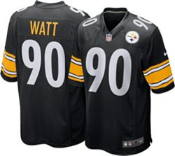 sale retailer f56ad 76156 Nike Men's Home Game Jersey Pittsburgh Steelers T.J. Watt #90