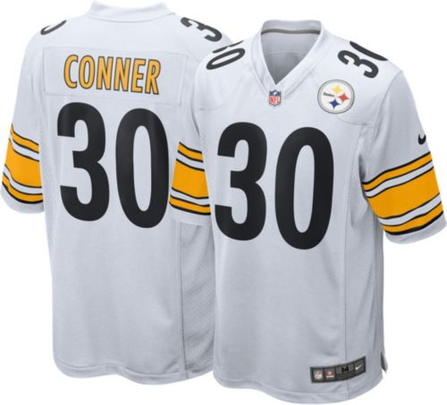 cfad3e074 Nike Men s Away Game Jersey Pittsburgh Steelers James Conner  30 ...
