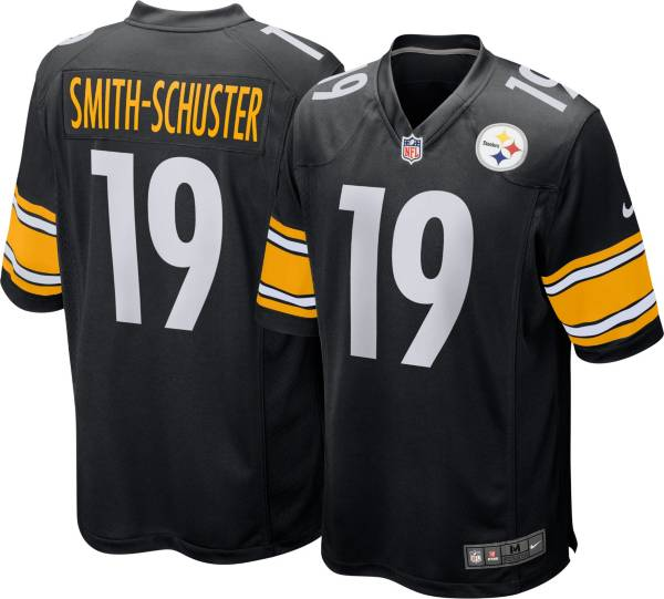 Nike Men's Pittsburgh Steelers JuJu Smith-Schuster #19 Black Game Jersey product image
