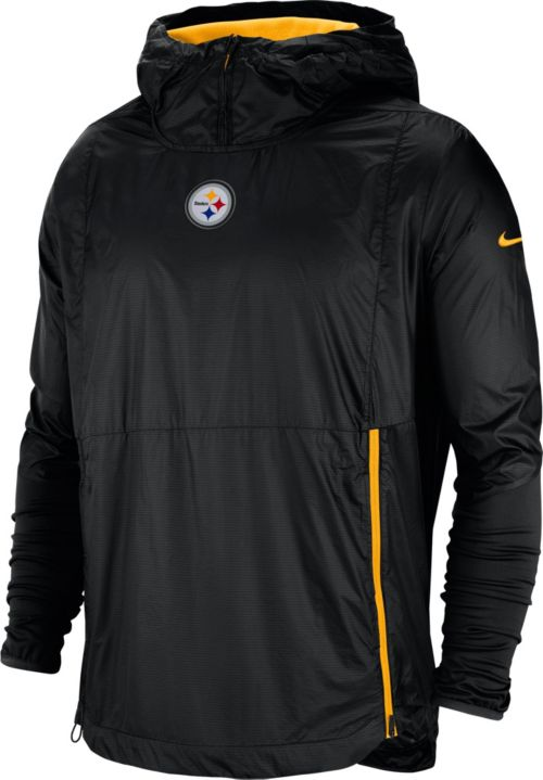 b0e20cd07 Nike Men s Pittsburgh Steelers Sideline Fly Rush Black Jacket.  noImageFound. Previous