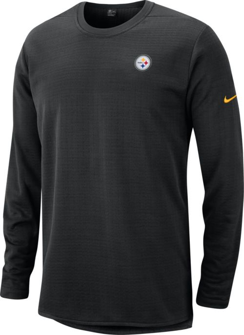 a158a0a2 Nike Men's Pittsburgh Steelers Sideline Modern Black Long Sleeve Top.  noImageFound. Previous