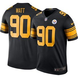 new style e0ce0 a28e3 Nike Men's Color Rush Legend Jersey Pittsburgh Steelers T.J. Watt #90