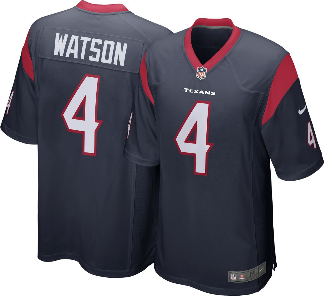1fa61da3fd1f57 Nike Men's Home Game Jersey Houston Texans Deshaun Watson #4 ...