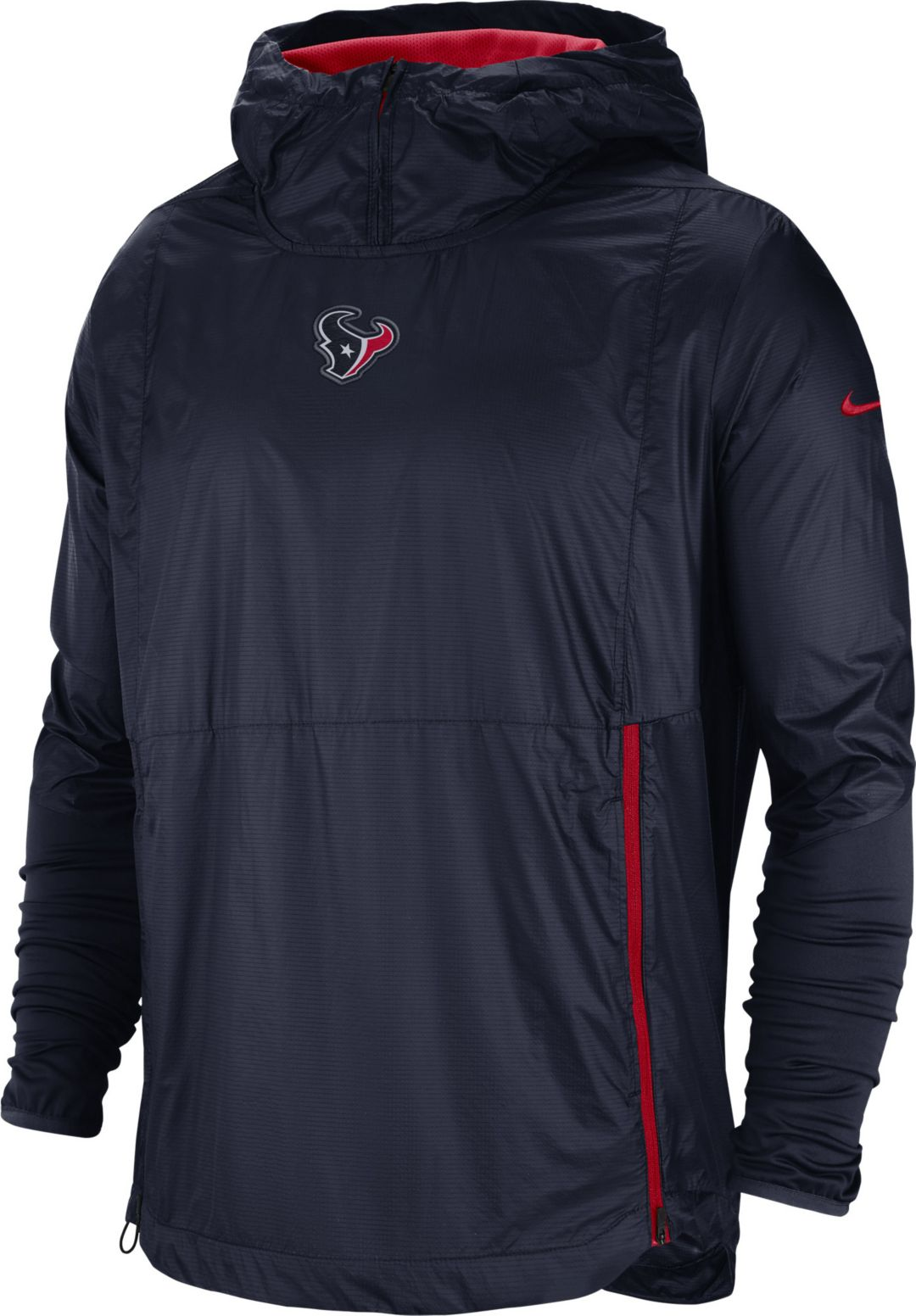 2cab7d0f Nike Men's Houston Texans Sideline Fly Rush Navy Jacket. noImageFound.  Previous