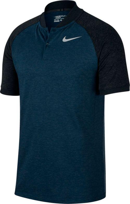 cc050688c5df Nike Men s Raglan Slim Fit Golf Polo. noImageFound. Previous