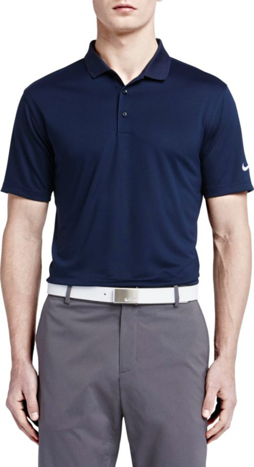 fa3e387e Nike Men's Dri-FIT Victory Solid Golf Polo. noImageFound. Previous