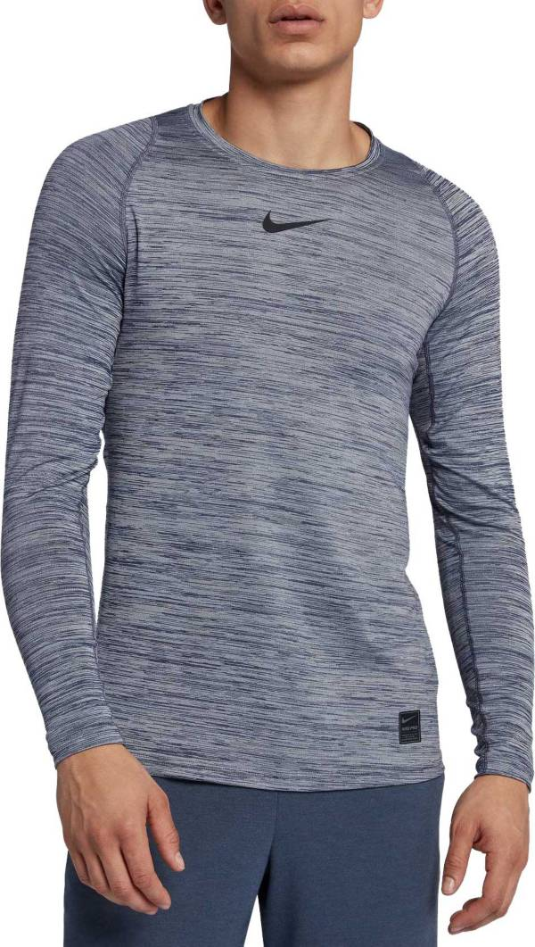 Nike Men's Pro Heather Long Sleeve Fitted Shirt product image