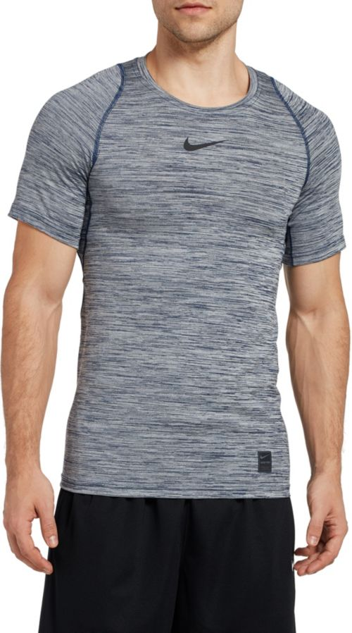 e4d03eba Nike Men's Pro Heather Printed Fitted T-Shirt | DICK'S Sporting Goods