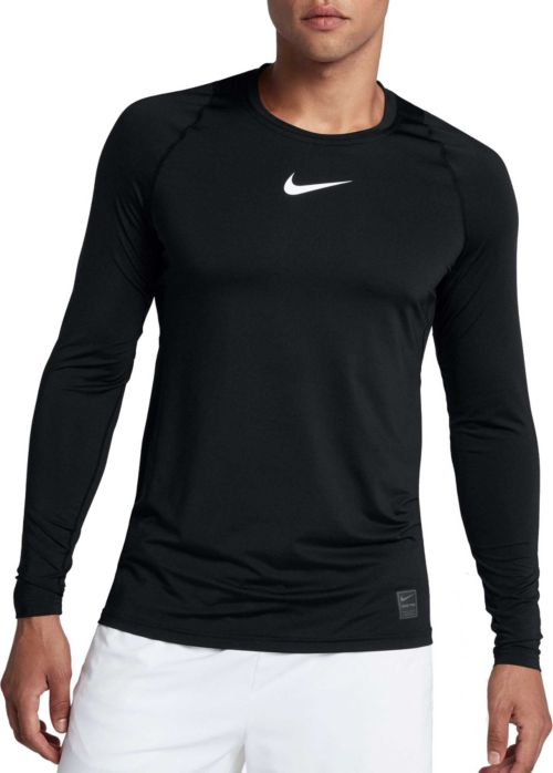 077effcc Nike Men's Pro Long Sleeve Fitted Shirt. noImageFound. Previous