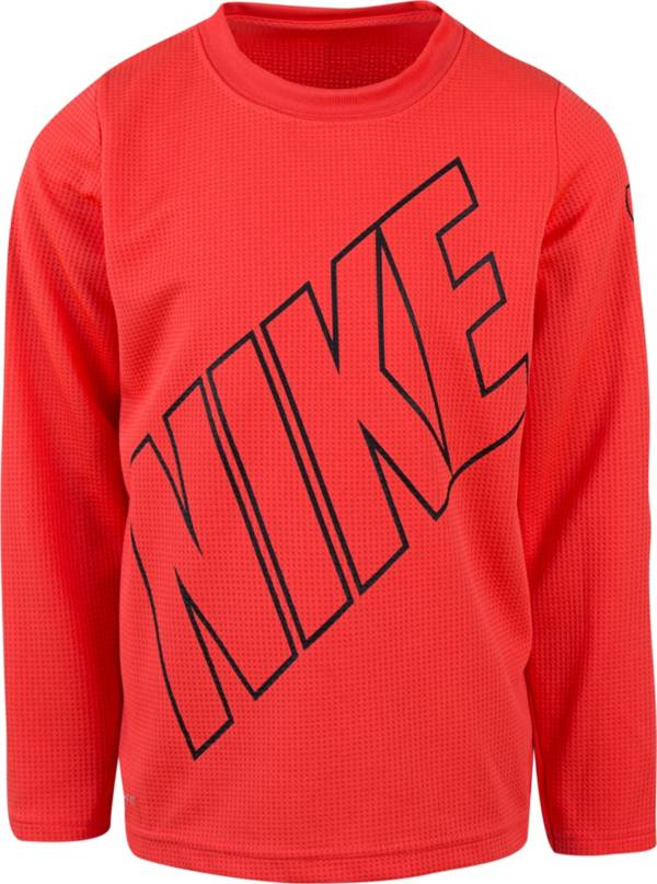 Nike Toddler Boys' Dri-FIT Thermal Long Sleeve Shirt product image