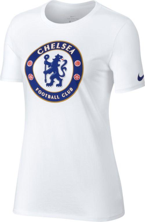 f4bc61acb Nike Women's Chelsea FC Spring 18 Crest White T-Shirt. noImageFound.  Previous