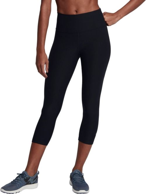 Nike Dri Fit Size Small Womens Black Yoga Capri Pants Leggings Workout To Have A Unique National Style Women's Clothing Activewear