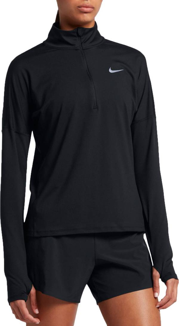 Prestigio éxtasis Punto de referencia  Nike Women's Dry Element Half Zip Long Sleeve Running Shirt | DICK'S  Sporting Goods