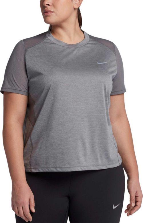 b30870b8235 Nike Women s Plus Size Miler Running T-Shirt. noImageFound. Previous