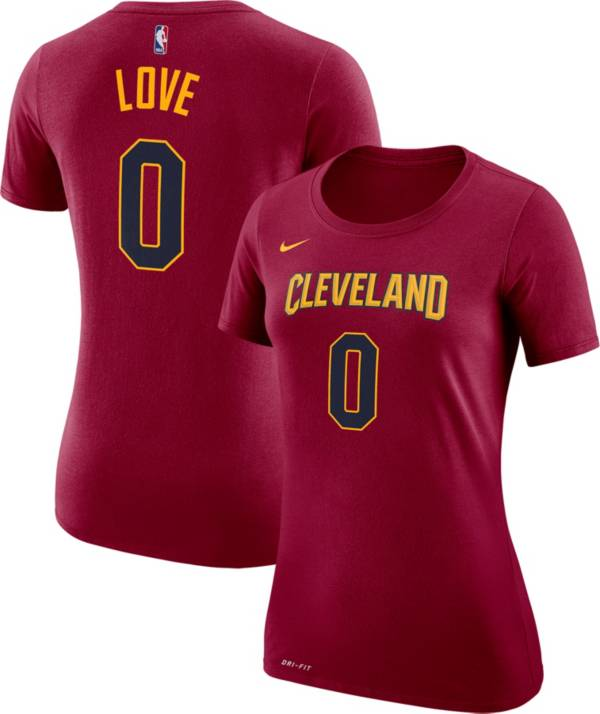 Nike Women's Cleveland Cavaliers Kevin Love #0 Dri-FIT Burgundy T-Shirt product image