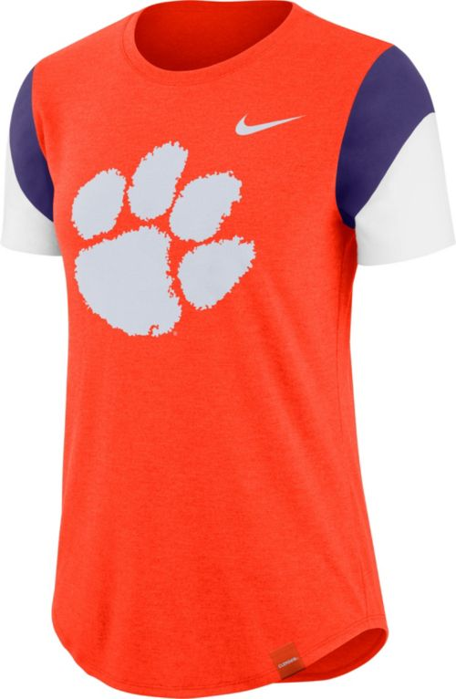 5c495595780 Nike Women s Clemson Tigers Orange Tri-Blend Fan Crew T-Shirt.  noImageFound. Previous