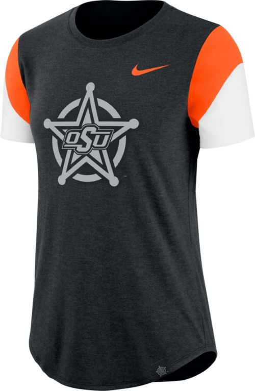 Nike Women s Oklahoma State Cowboys Black Tri-Blend Fan Crew T-Shirt.  noImageFound. Previous 0ddb8bee0