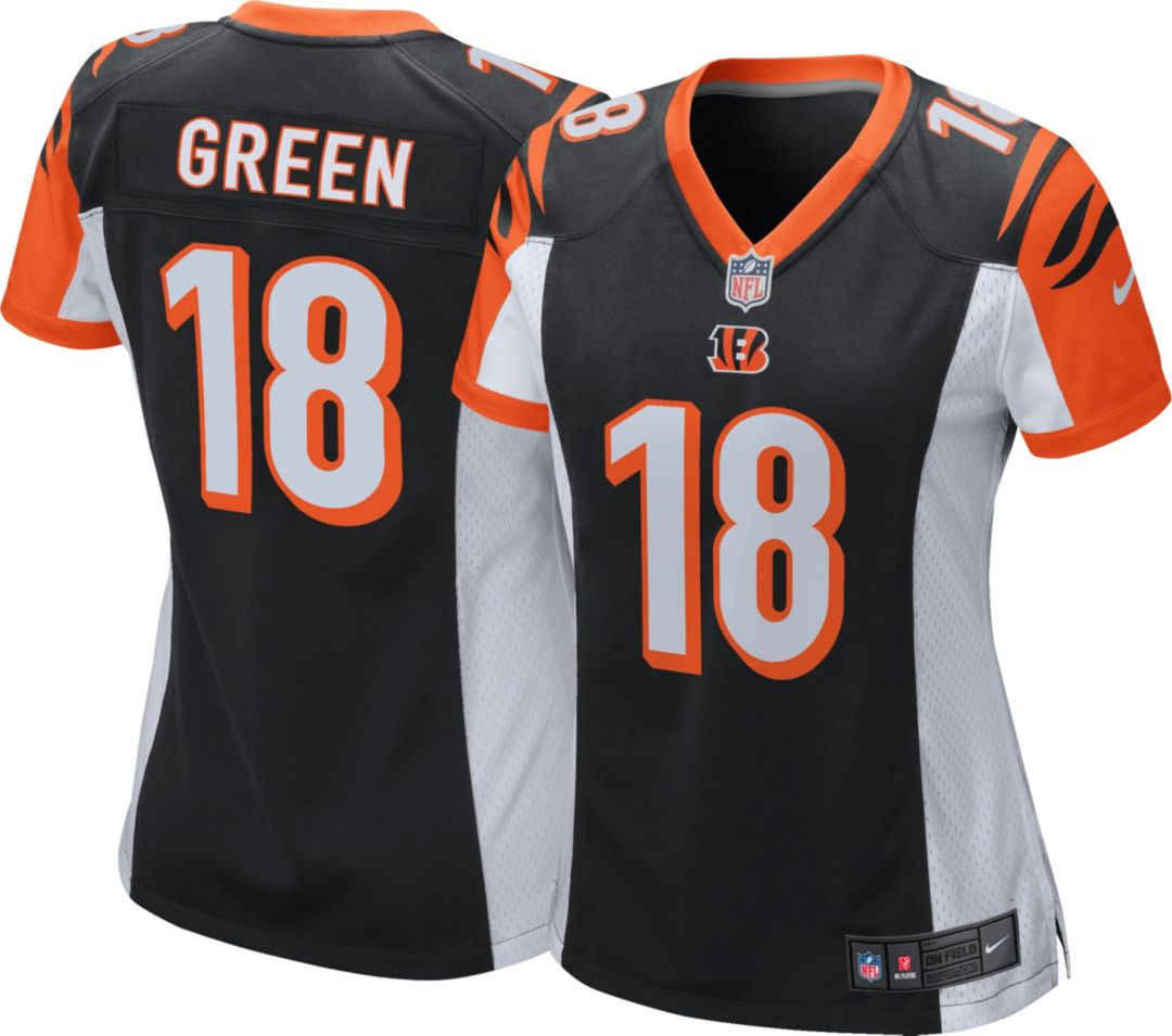 095243e3 Nike Women's Home Game Jersey Cincinnati Bengals A.J. Green #18