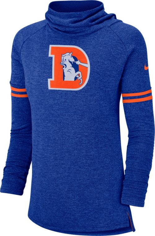 7a03b397daa Nike Women s Denver Broncos History Royal Funnel Pullover. noImageFound.  Previous