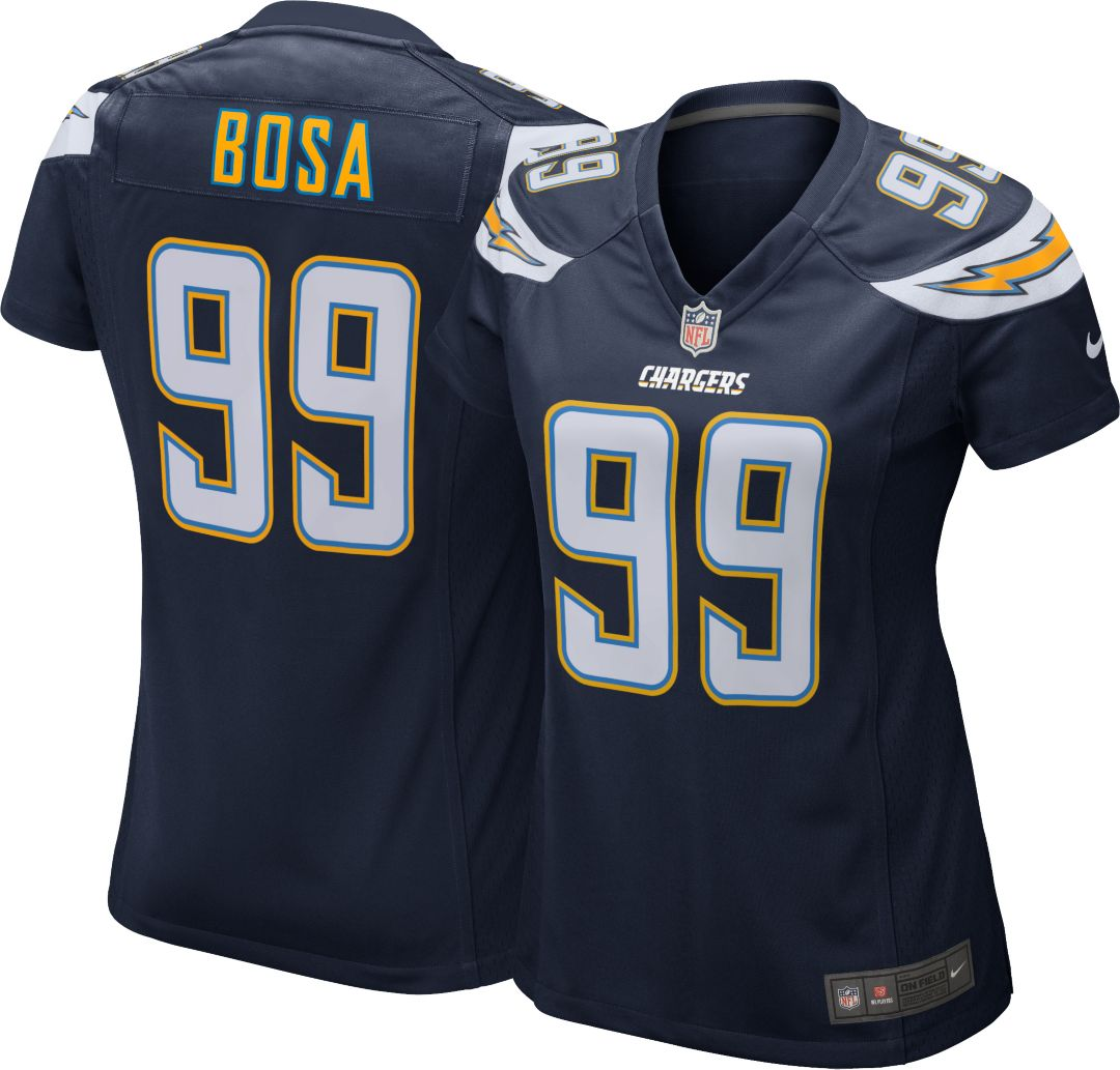 online retailer 6f92b f2816 Nike Women's Home Game Jersey Los Angeles Chargers Joey Bosa #99