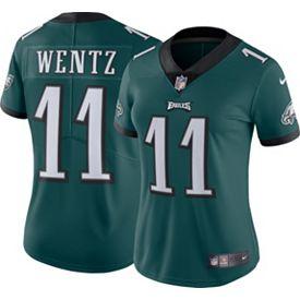 check out c27cf 6fd72 Nike Women's Home Limited Jersey Philadelphia Eagles Carson Wentz #11