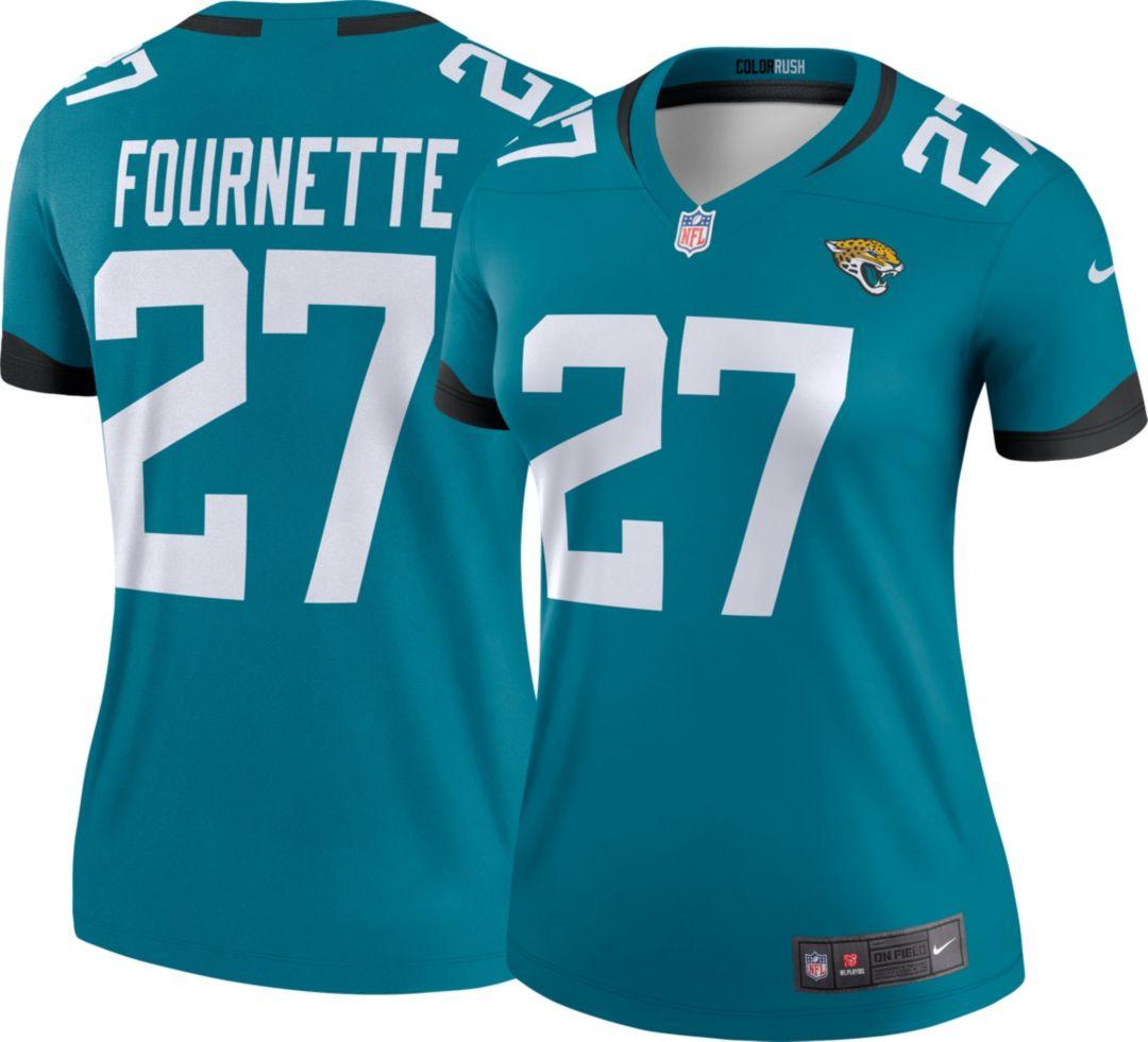 33b4af75 Nike Women's Color Rush Legend Jersey Jacksonville Jaguars Leonard  Fournette #27