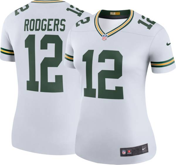 Nike Women's Color Rush Legend Jersey Green Bay Packers Aaron Rodgers #12 product image