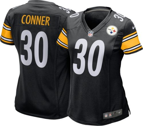 b9d9c58fb Nike Women s Home Game Jersey Pittsburgh Steelers James Conner  30 ...