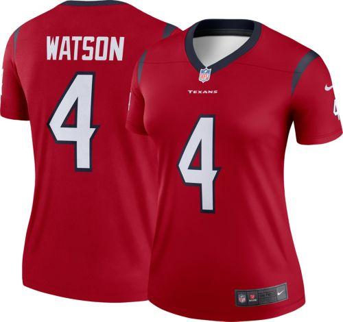 Nike Women's Home Legend Jersey Houston Texans Deshaun Watson #4  hot sale