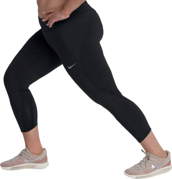 Nike Women S Plus Size Epic Lux Crop Running Tights Dick S Sporting Goods