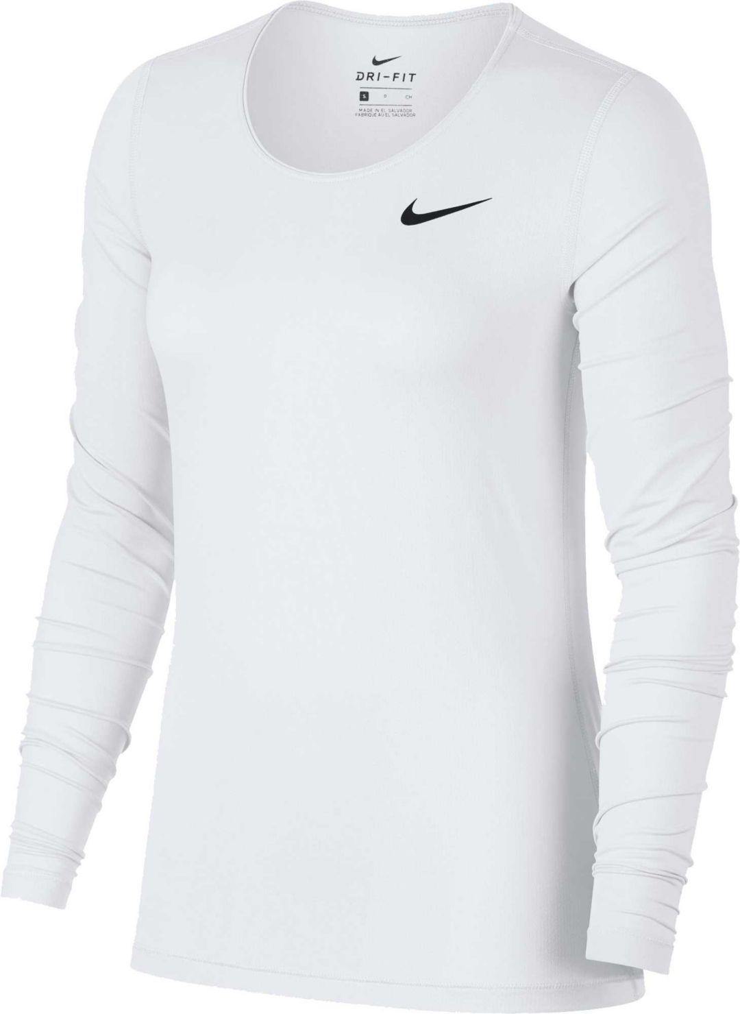 fb924ba6 Nike Women's Pro Cool Long Sleeve Training Shirt. noImageFound. Previous