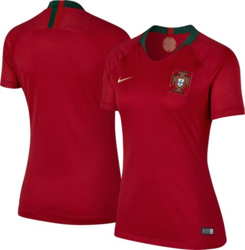 c8e576aaa Nike Women s 2018 FIFA World Cup Portugal Breathe Stadium Home Replica  Jersey. noImageFound. Previous