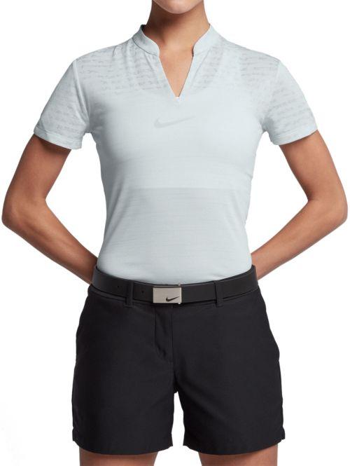 Nike Women s Zonal Cooling Golf Polo 1 b57ee1ea8