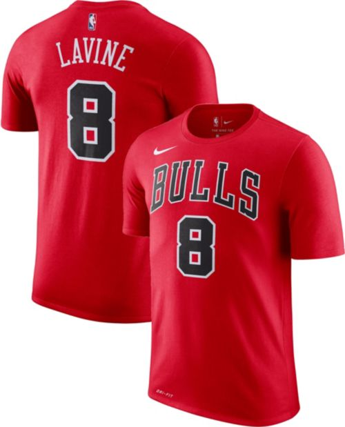 263036a6d0f Nike Youth Chicago Bulls Zach LaVine  8 Dri-FIT Red T-Shirt. noImageFound.  Previous