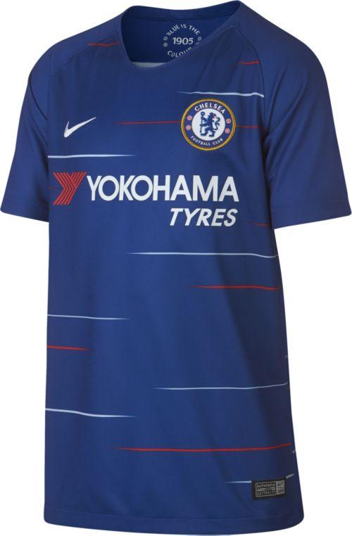 11c4cda3b Nike Youth Chelsea 2018 Breathe Stadium Home Replica Jersey. noImageFound.  Previous