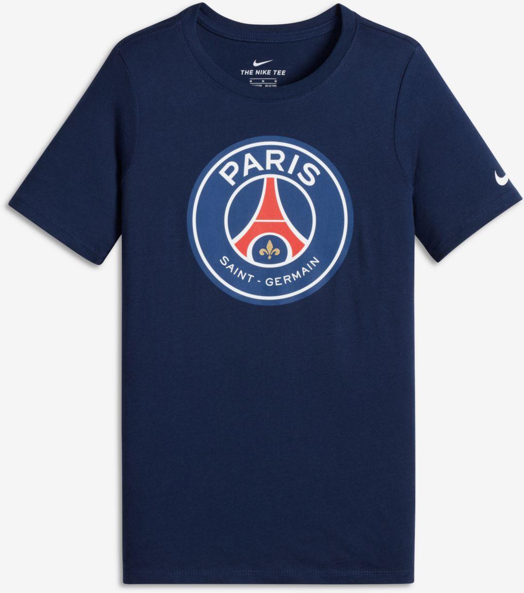 d2ce5a5d9 Nike Youth Paris Saint-Germain Navy Crest T-Shirt. noImageFound. Previous