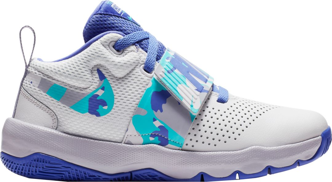 df5e37ef6 Nike Kids' Grade School Team Hustle D 8 Camo Basketball Shoes ...