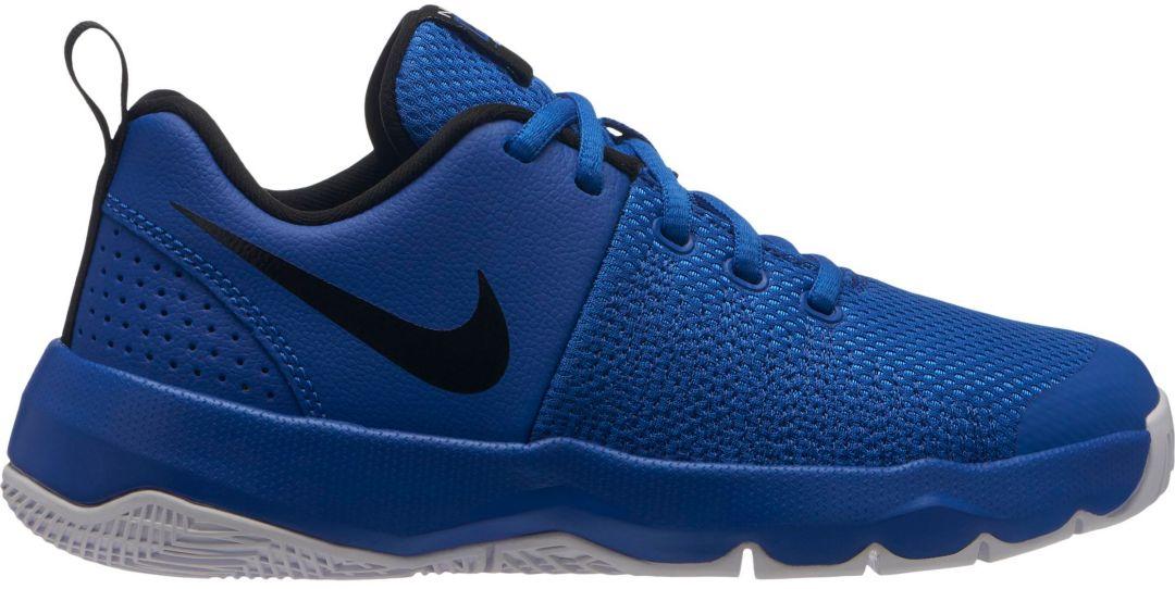 58d37bb7e Nike Kids' Grade School Team Hustle Quick Basketball Shoes | DICK'S ...